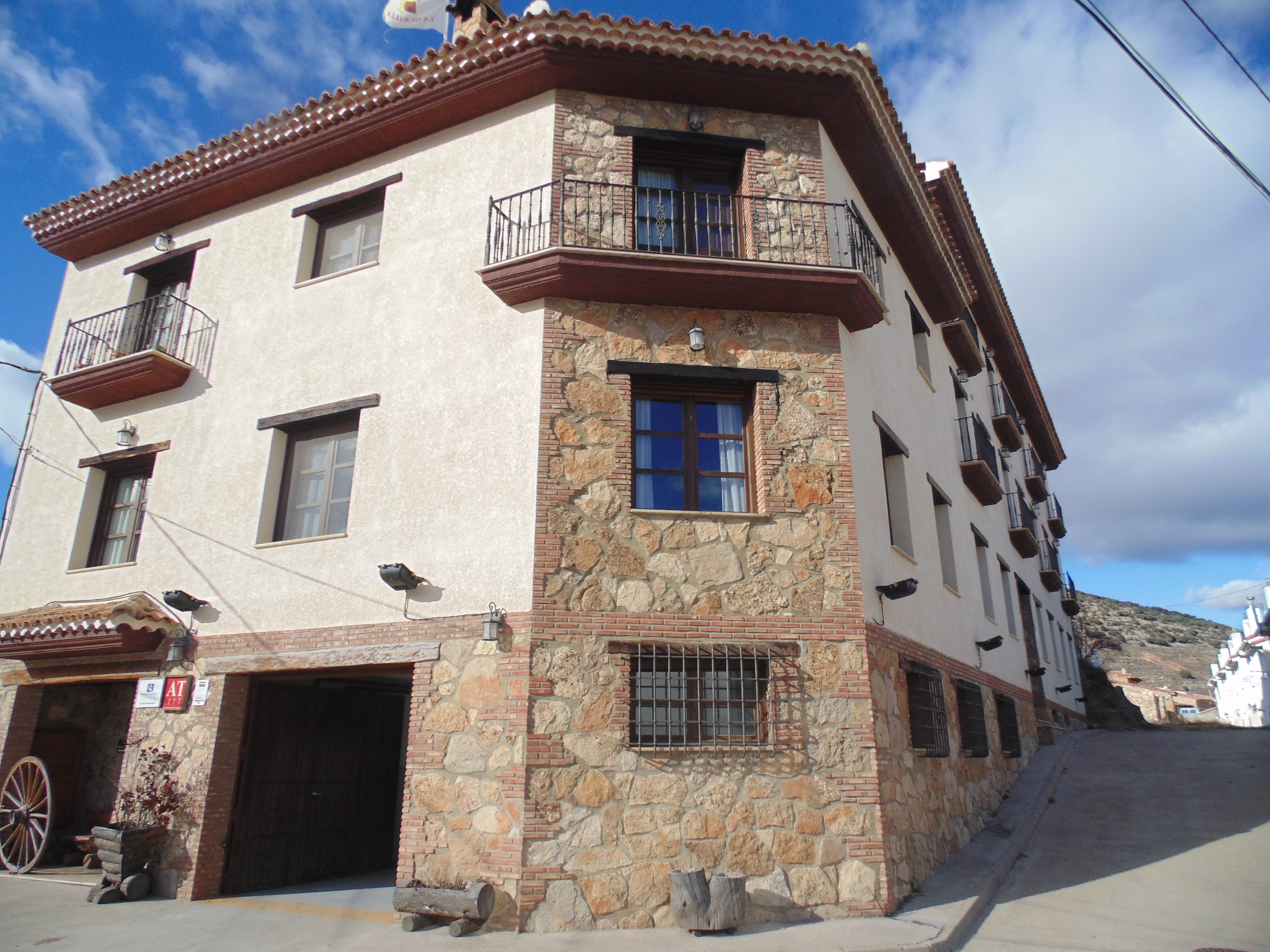 apartahotel en Cañete