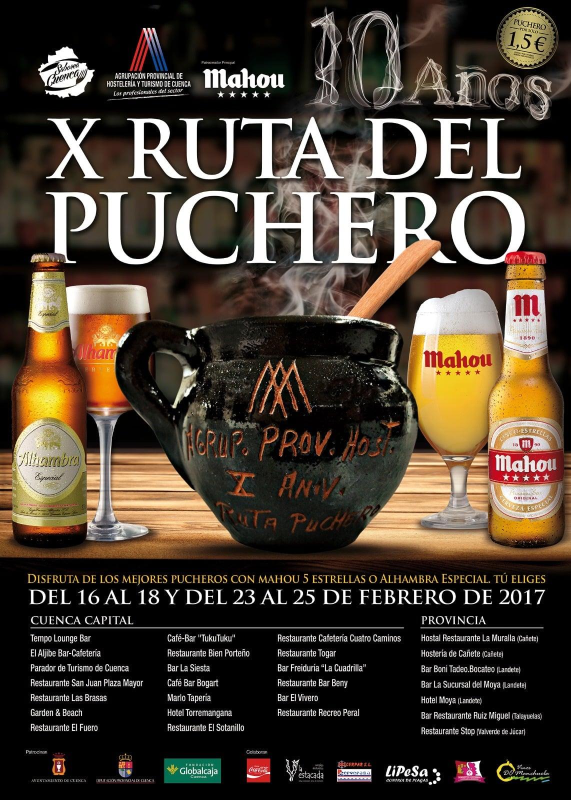 X Ruta del Puchero en Cuenca