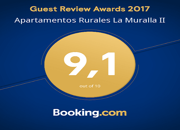 Booking Guest Review Award La Muralla