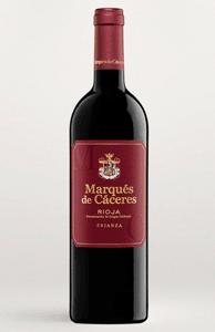 Vino Marqués de Cáceres en Cañete