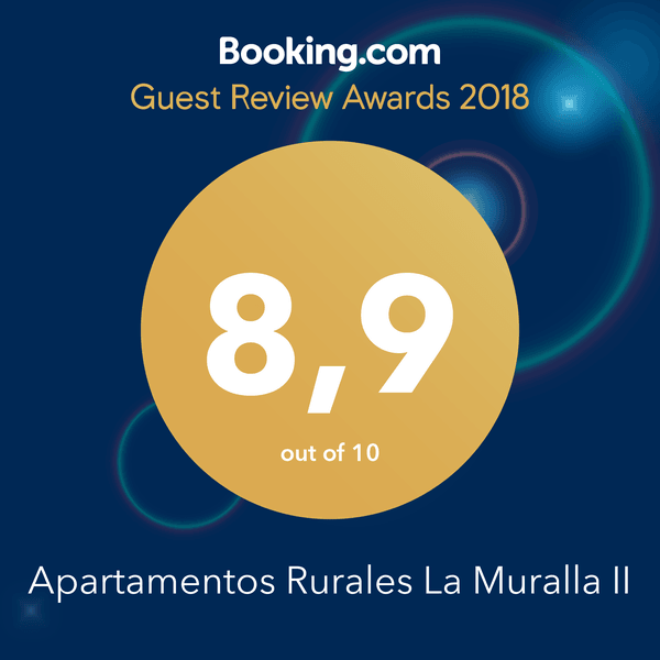 Booking Guest Review Awards 2018 Apartamentos La Muralla