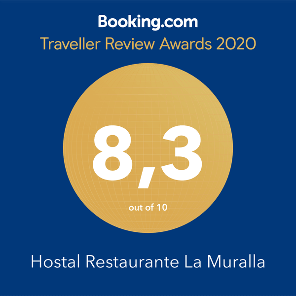 Booking Guest Review Awards 2020 Hostal La Muralla